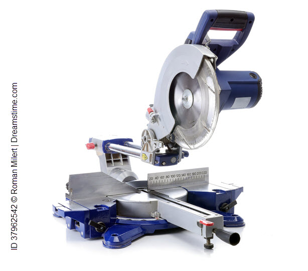 Image:  Compound Mitre Saw