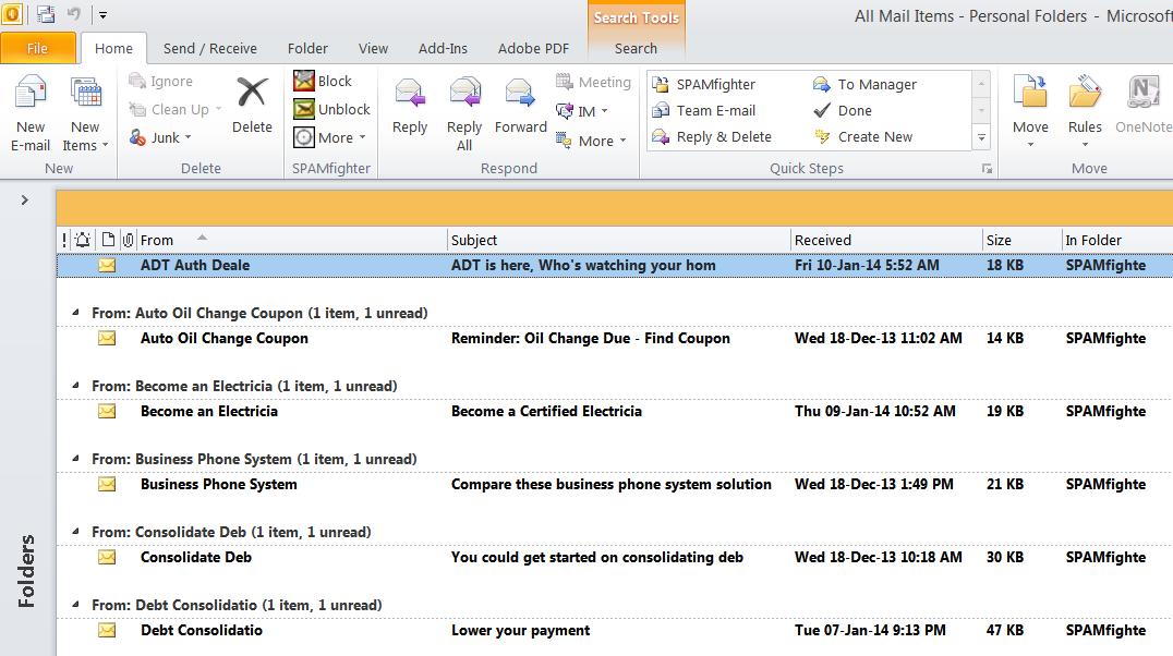 Outlook Truncates the Fields